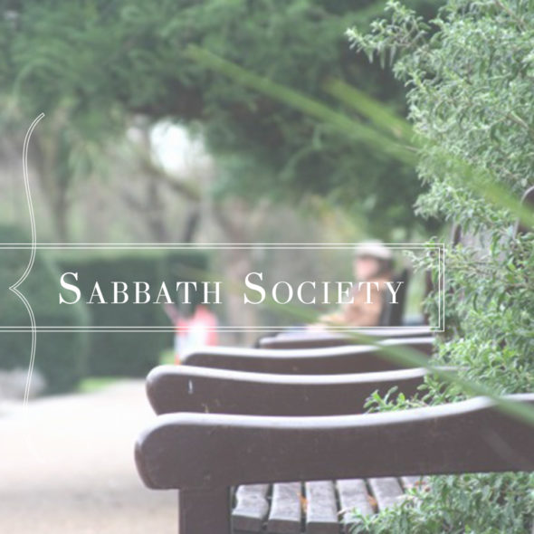 Sabbath Society section header